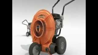Force 6 HP Wheeled Blower Video